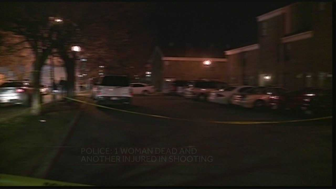 1 woman dead, another injured in morning shooting