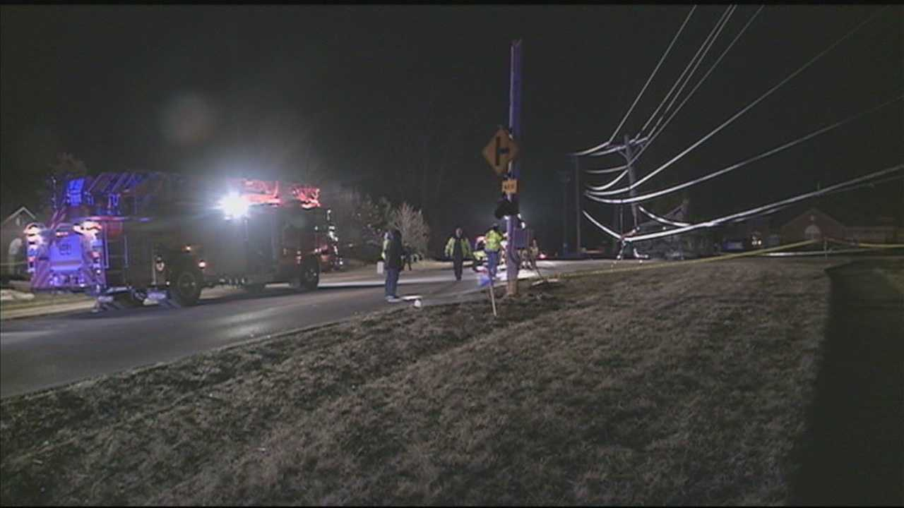 Police continue to investigate after a man was killed in a crash on Dorsey Lane on Saturday night.