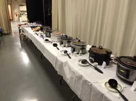 WLKY's 2014 Chili Cookoff to celebrate the beginning of March Madness.