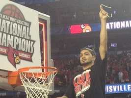 1. 2013 NCAA Championship Louisville vs. Michigan April 8, 2013 -- 54% of homes in Louisville watched the game