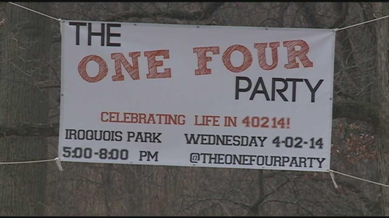 Residents use Wednesday's date to celebrate neighborhood