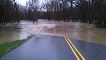 Georgetown-Greenville Rd. at Cooks Mill Rd. - Indiana