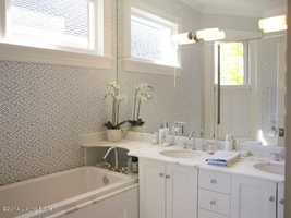 And a remodeled bathroom.