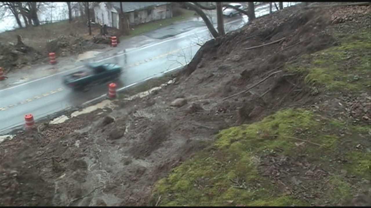 Heavy rain causes second Carroll County mudslide