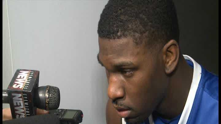 University of Kentucky Wildcat Alex Poythress talks about the work put into each season and the championship loss.