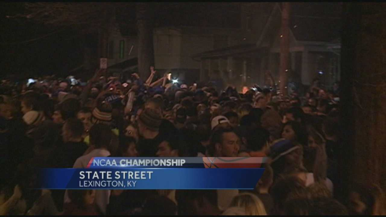 UK fans cause minimal chaos in Lexington after loss