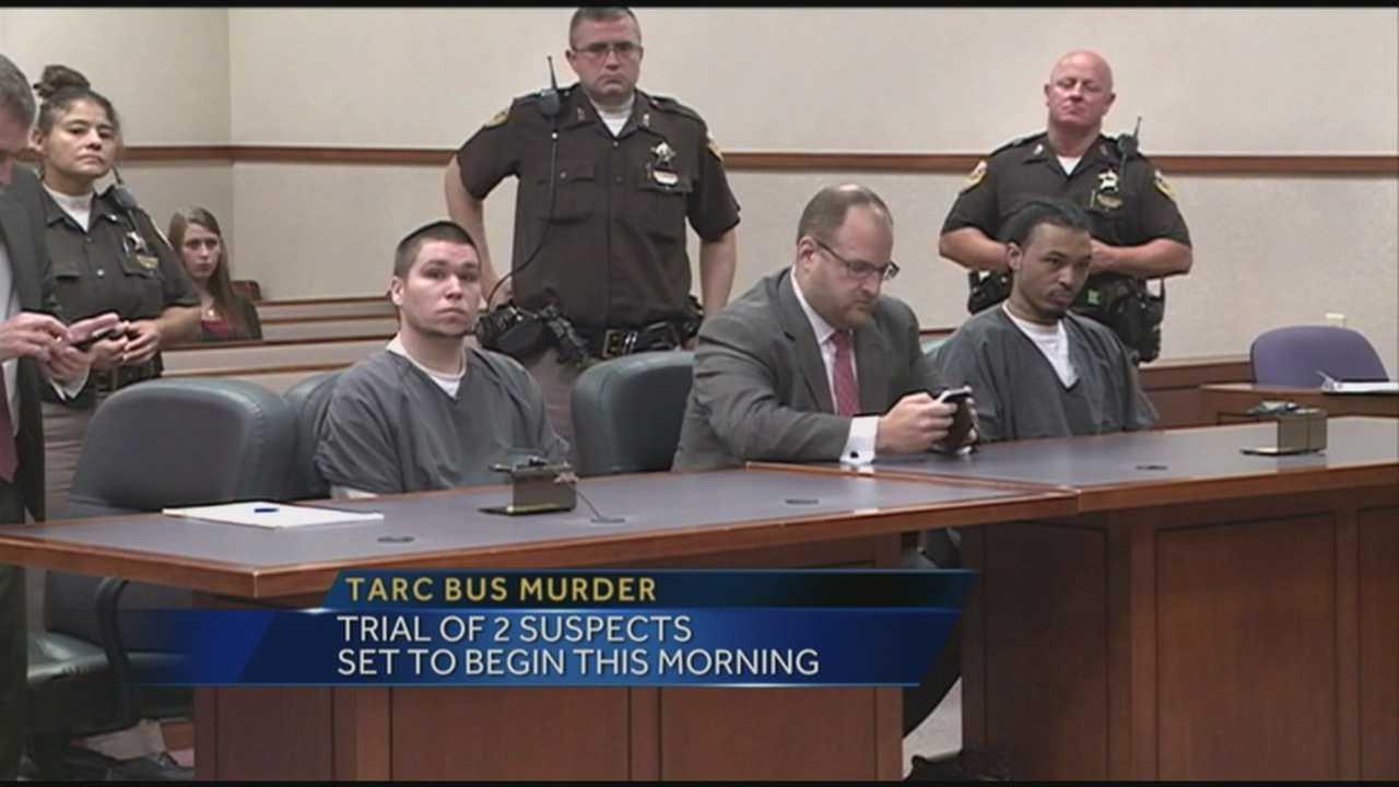 TARC bus murder trial