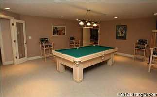 Enjoy a round of pool in the game room.