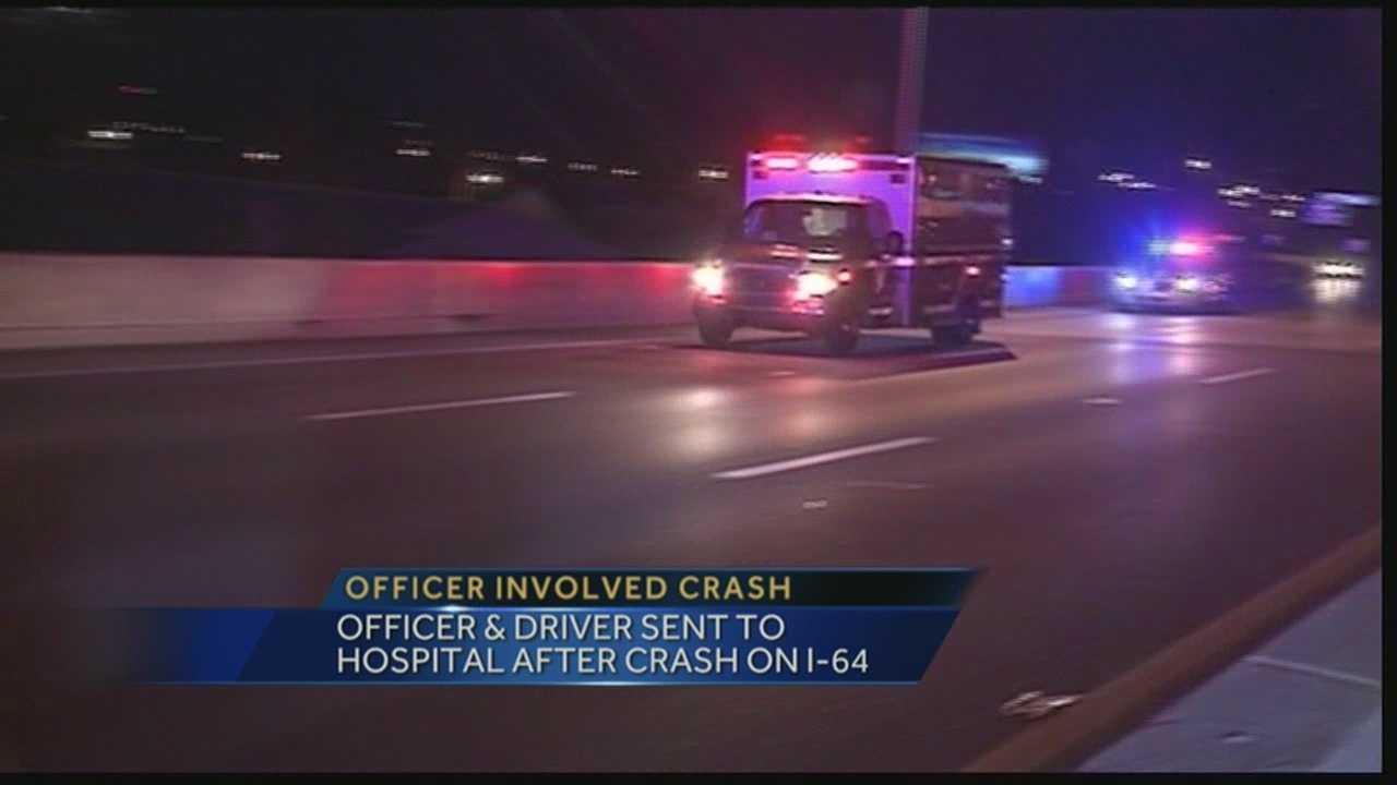 Officer injured