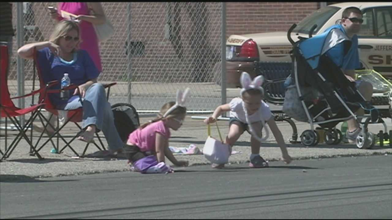 An annual Easter parade was held Saturday in the Crescent Hill neighborhood.