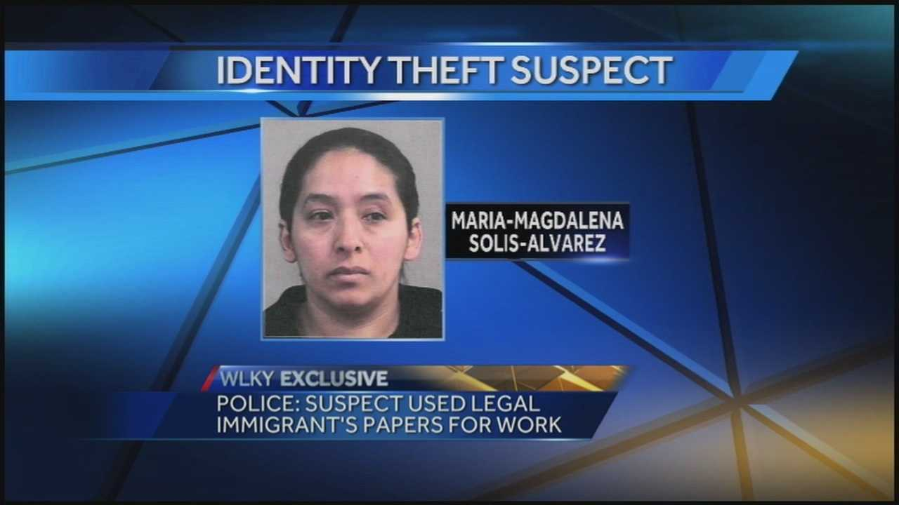 According to police, an illegal immigrant used and legal immigrant's papers for work.