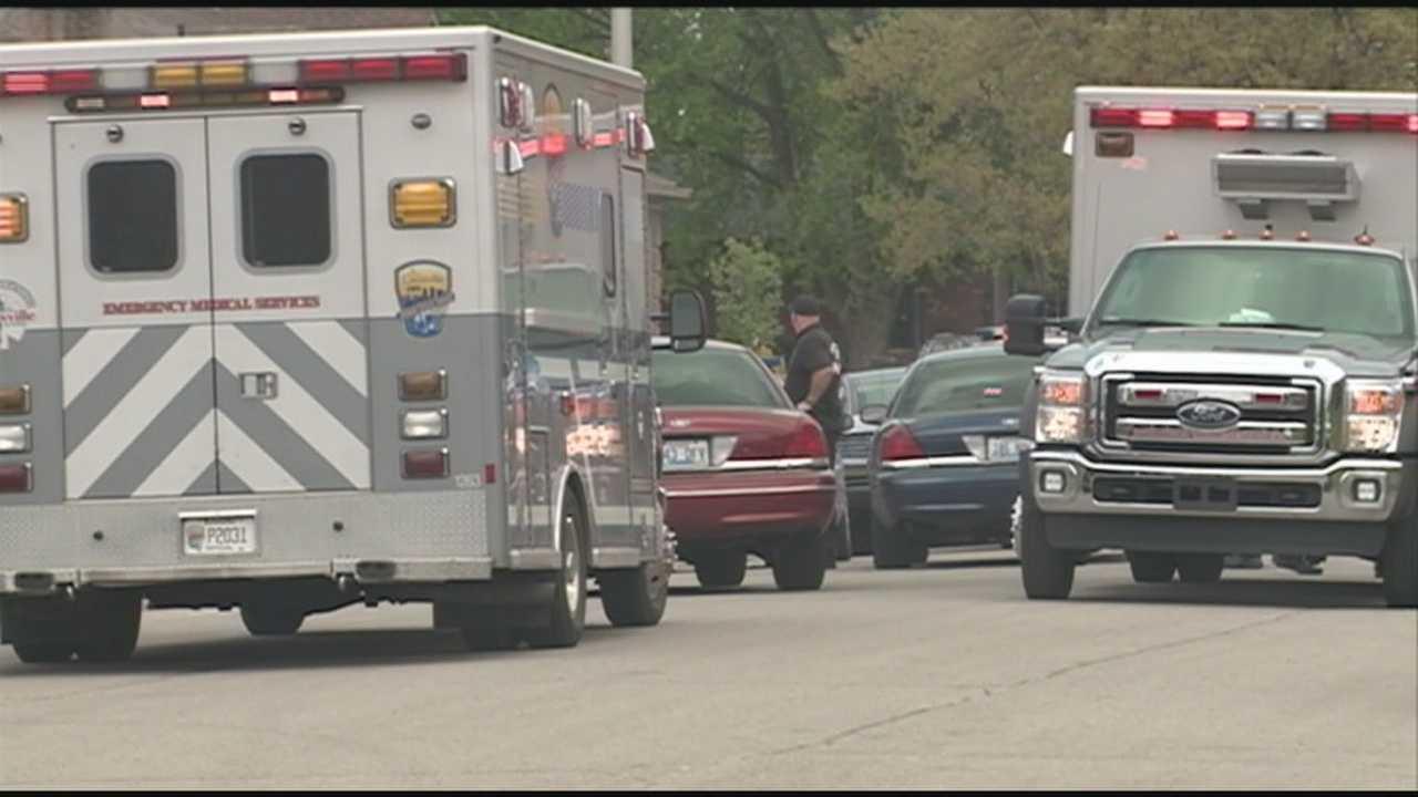 Husband, wife shot in Newburg area