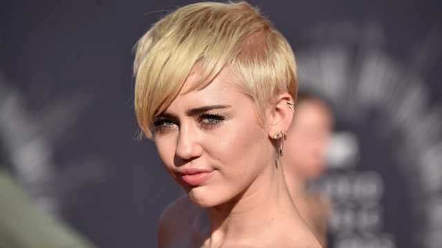 Most influential - Miley Cyrus