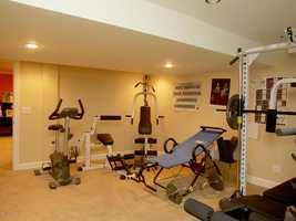 Exercise room.