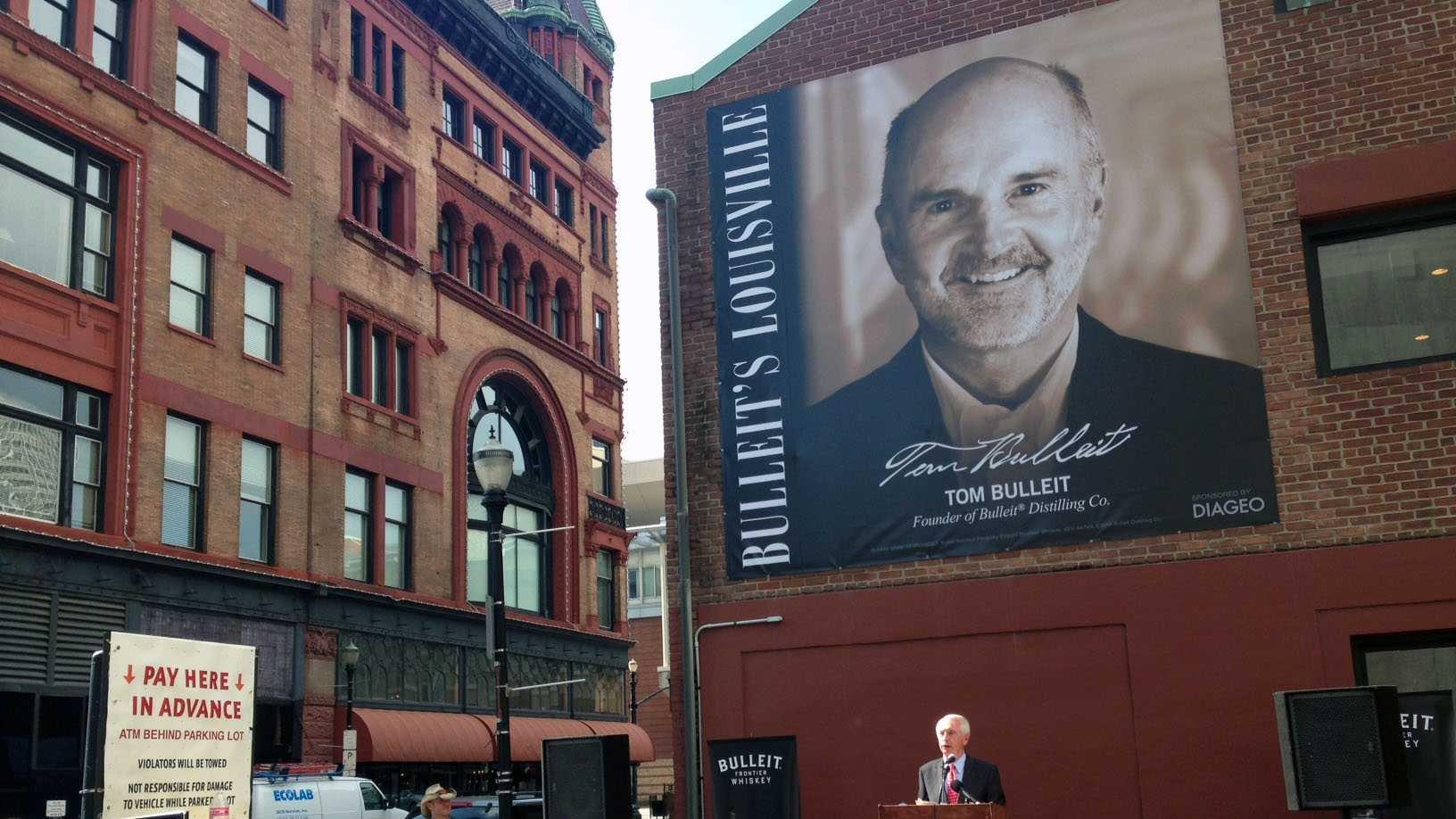 Tom Bulleit honored as newest Hometown Hero
