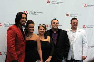 J.D. Shelburne and his band