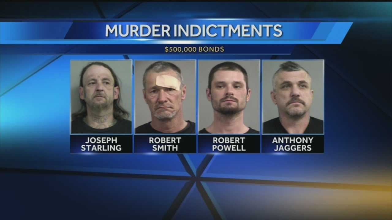 4 indicted on new charges in death of man last fall