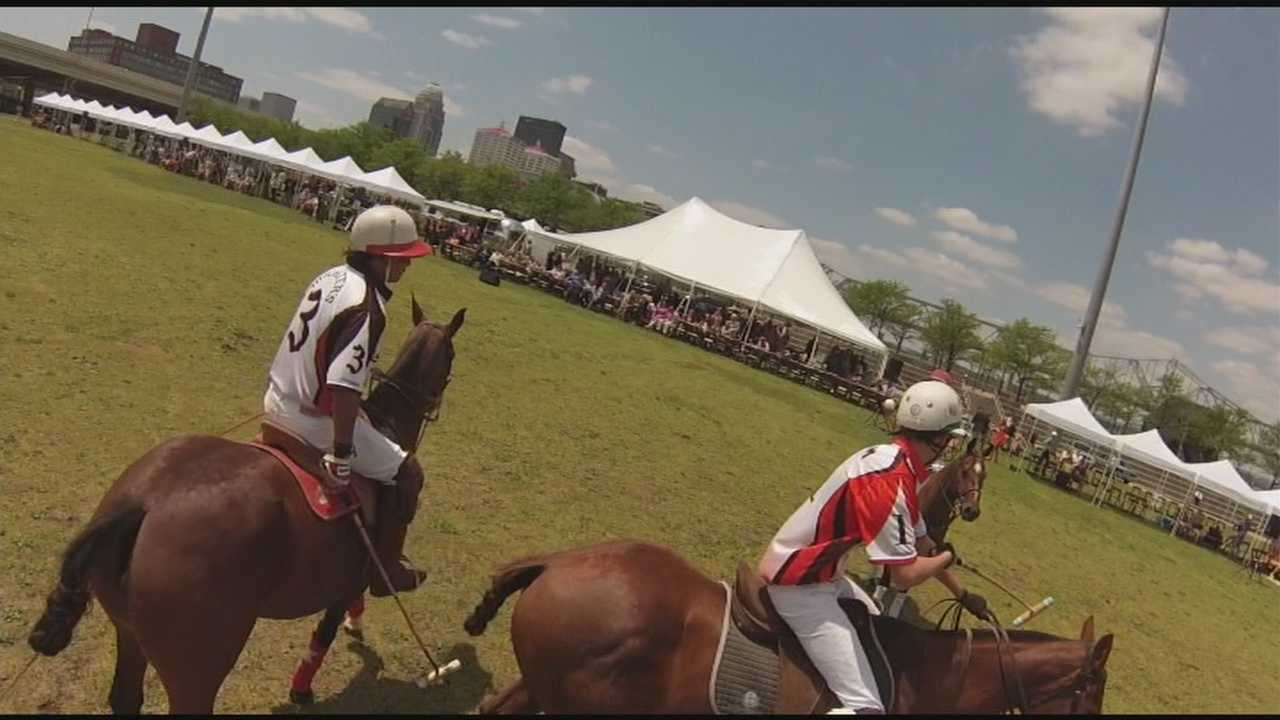 The Inaugural Kentucky Bourbon Affair wraps up Sunday with a polo match at Waterfront Park