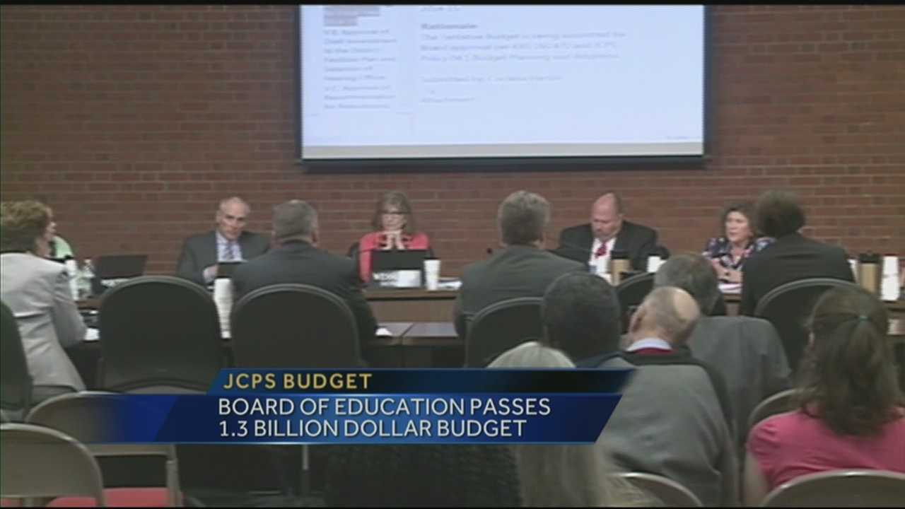 JCPS Board passes 2014-15 budget Tuesday evening
