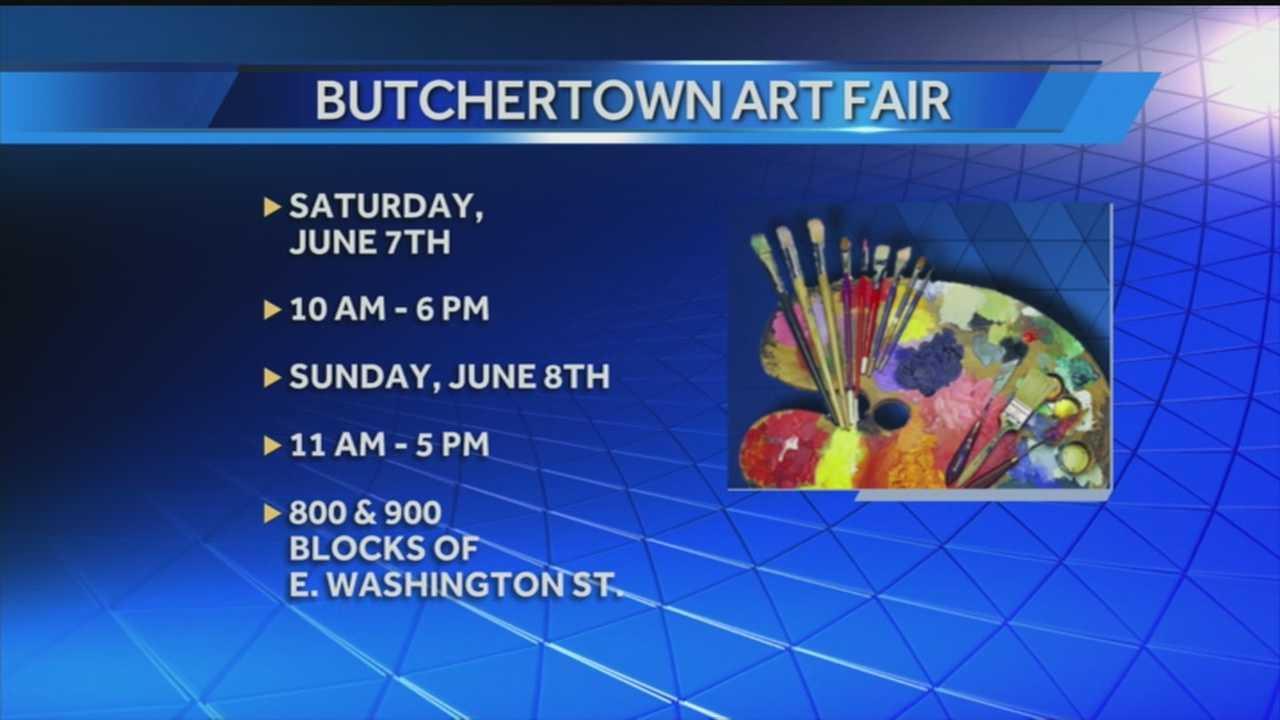 The Butchertown neighborhood is preparing to host its annual art fair.