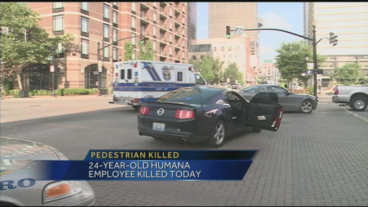 Humana employee killed trying to cross downtown street