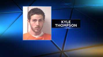 Kyle Thompson is charged with murder, assault and terroristic threatening, fleeing and evading and being a persistent felony offender.