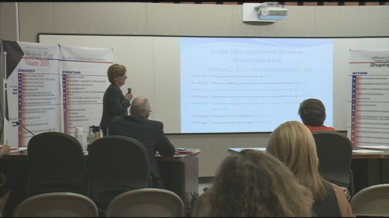 JCPS superintendent gets glowing review