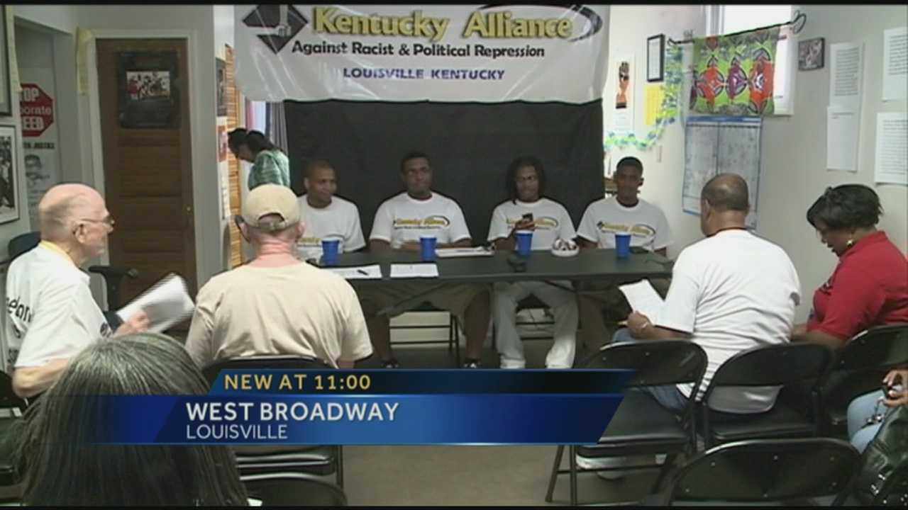 4 men cleared in March violence speak publicly