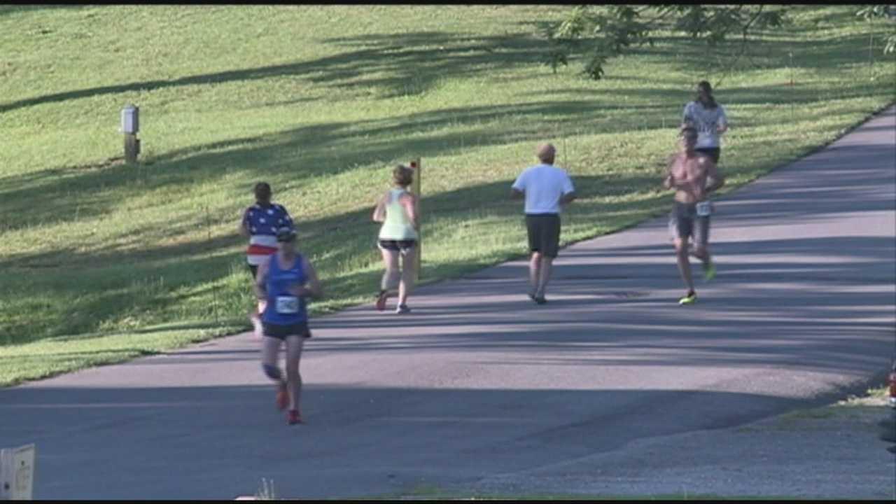 Runners compete in Heroes Run