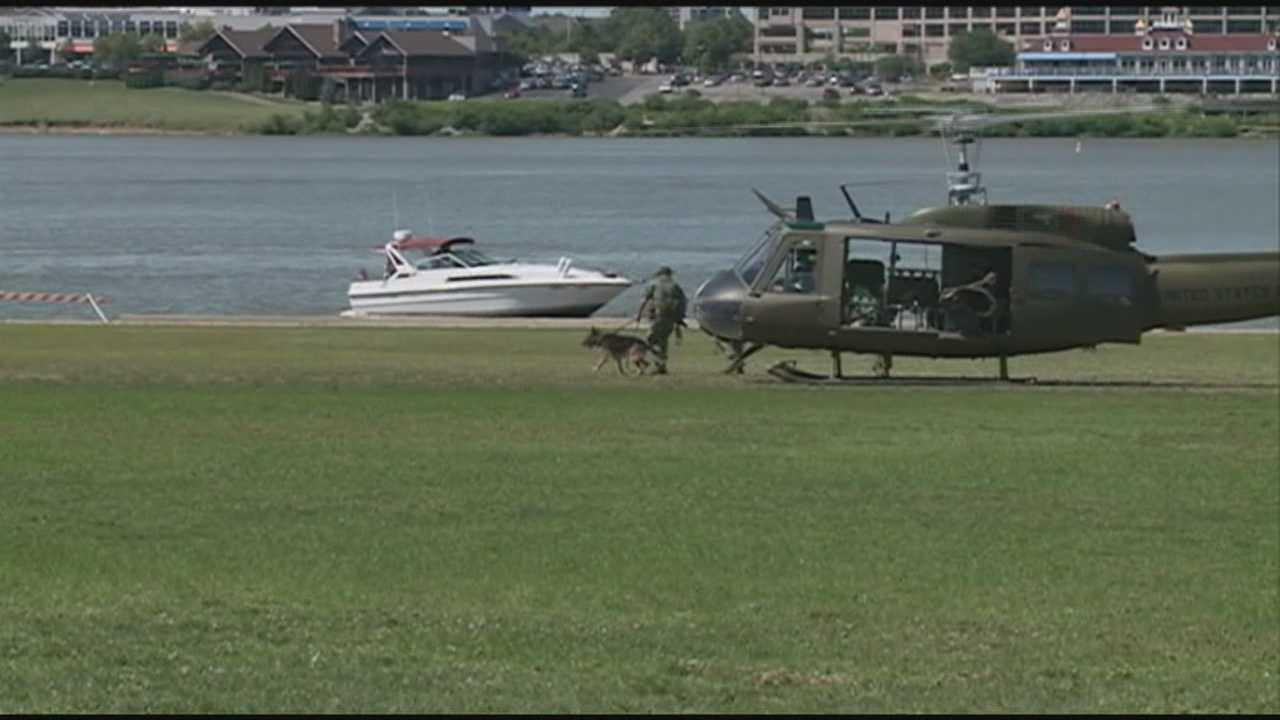 Large crowd hits Waterfront Park for Vietnam War battle re-enactment