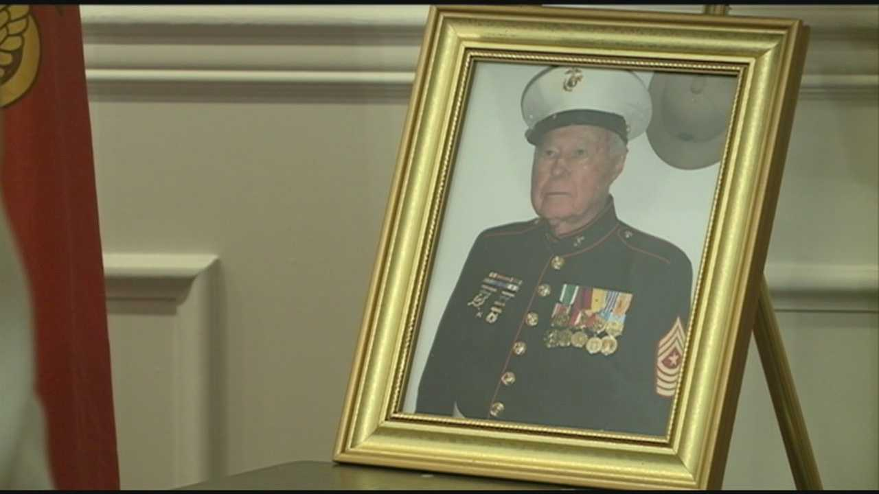 Family, fellow Marines gather to remember Pearl Harbor survivor who died at 93