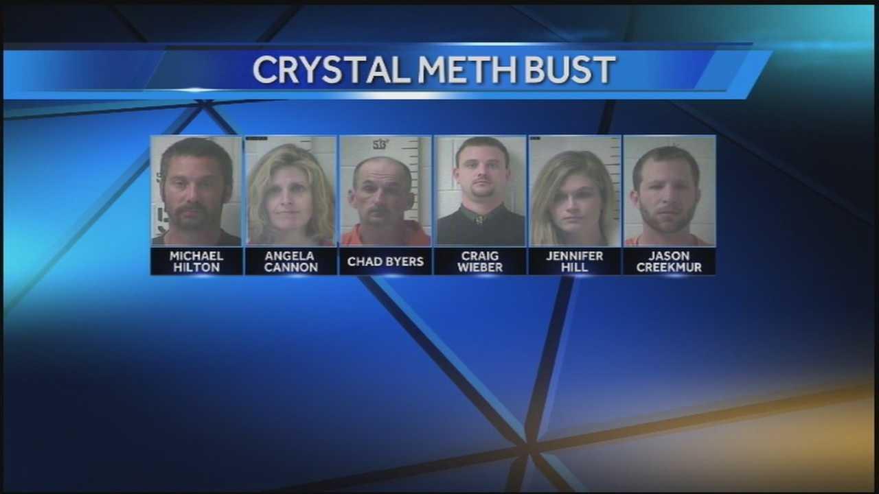 HTV Hub Edit Crystal Meth bust