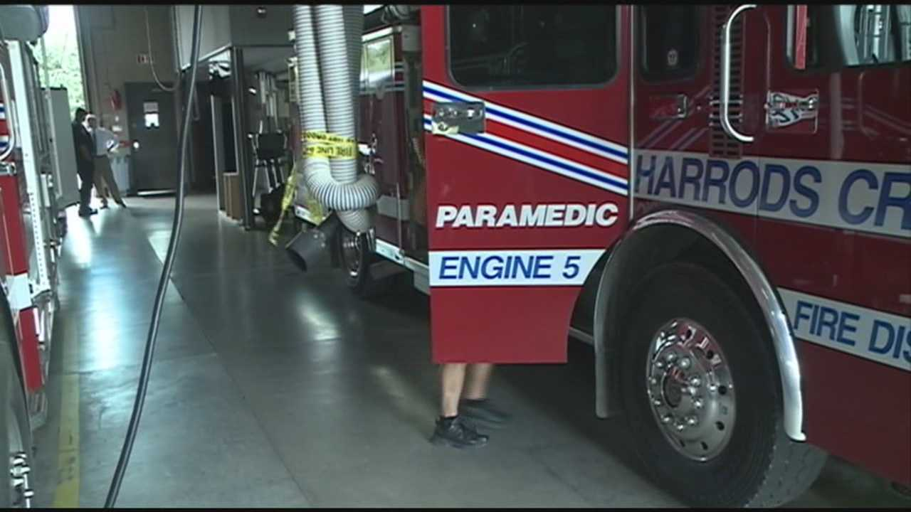 Suburban fired district chiefs are negotiating with Louisville Metro Government over the expense of emergency runs.