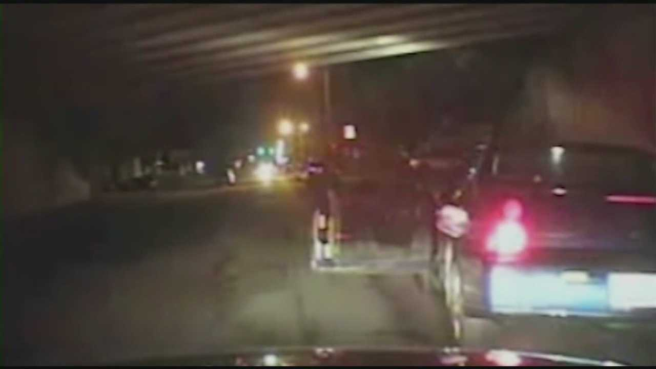 Newly-released evidence shows an officer's gun jammed in an incident involving two tees accused of shooting at him.