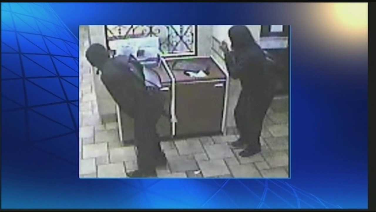 Police are investigating after a McDonald's restaurant was robbed.