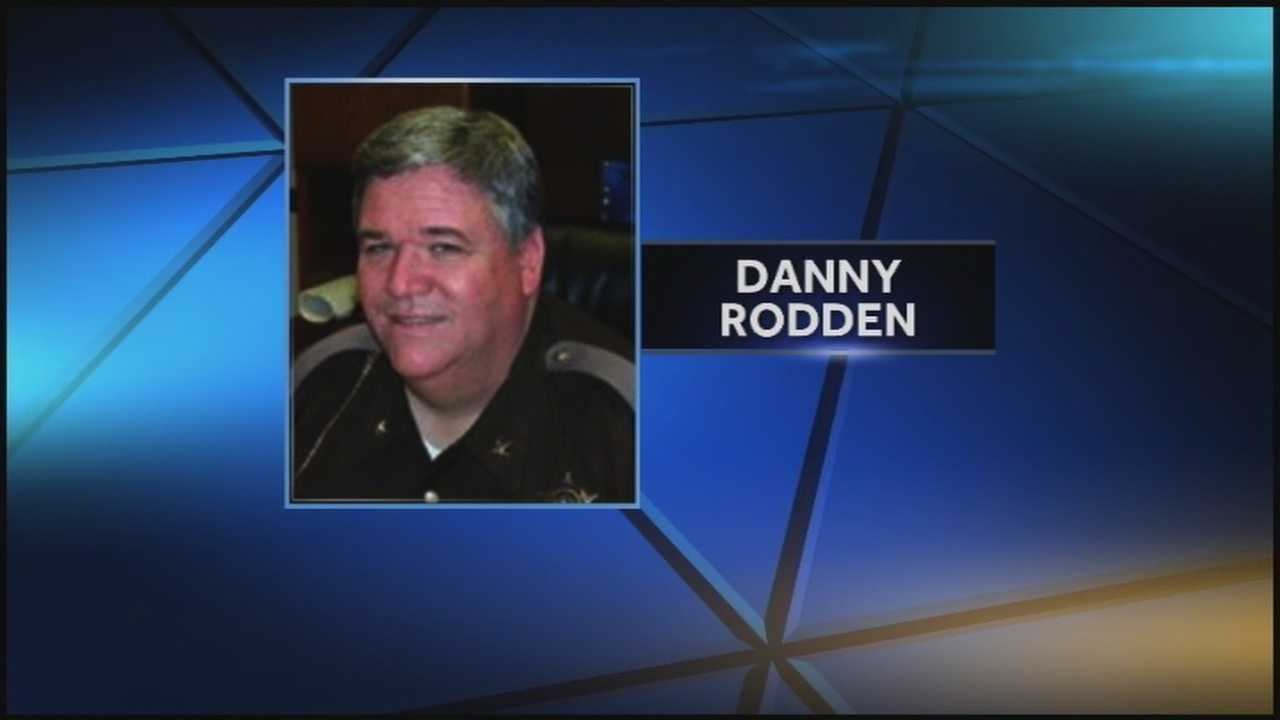 Clark County Sheriff Danny Rodden appeared in federal court Tuesday.