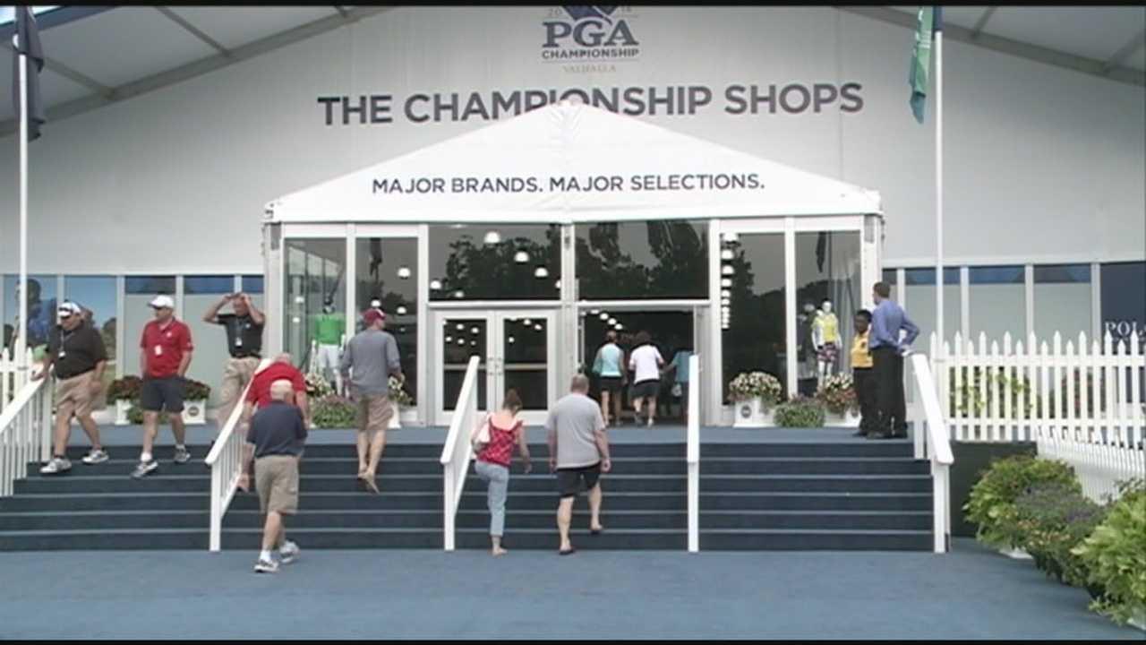 Golf fans enjoy PGA experience ahead of Championship at Valhalla Golf Club