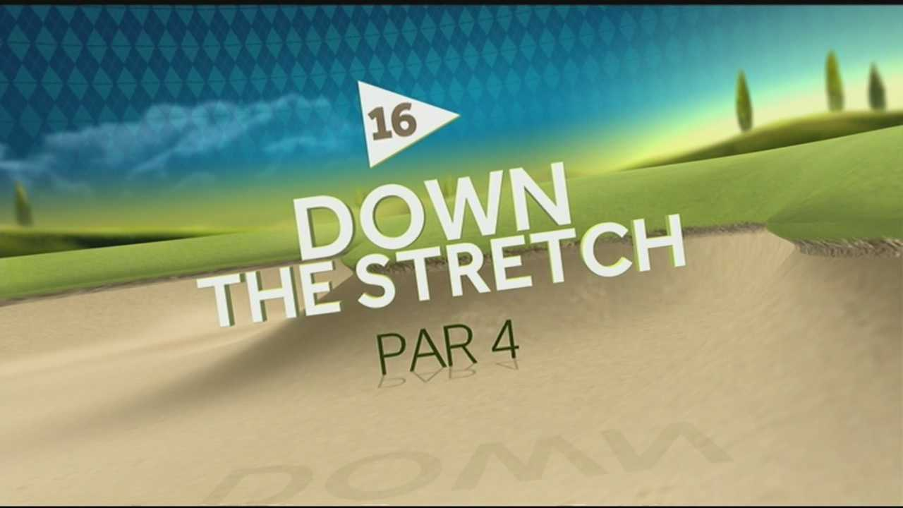 WLKY's Fred Cowgill analyzes the 18 holes of Valhalla Golf Club ahead of the PGA Championship. Hole 16, Down the Stretch, is one of the longest Par 4s on the course.