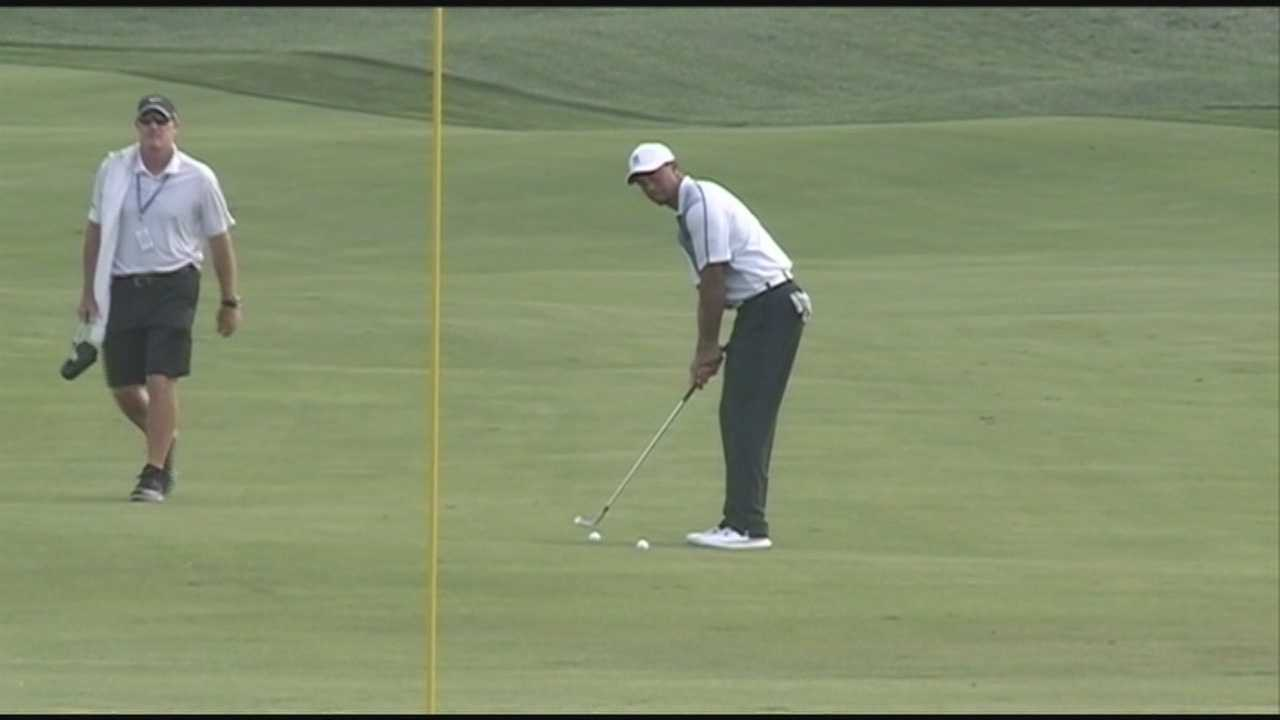 Tiger ready to compete at Valhalla