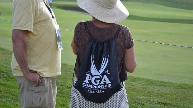 PGA backpack