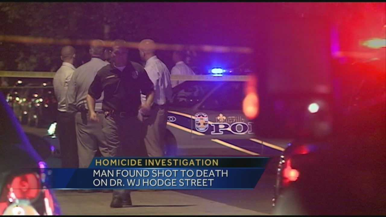 An investigation is underway after a man was found shot to death on Dr. W.J. Hodge Street.