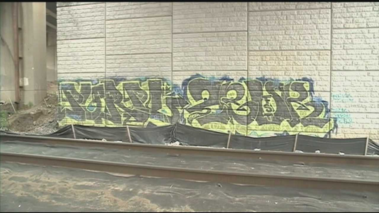 Police working on plan to crack down on graffiti 'tagging'