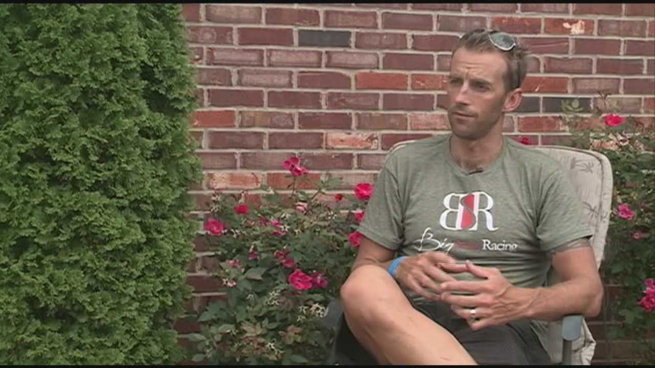 Three-time Ironman Louisville winner Chris McDonald is ready for Sunday's race.