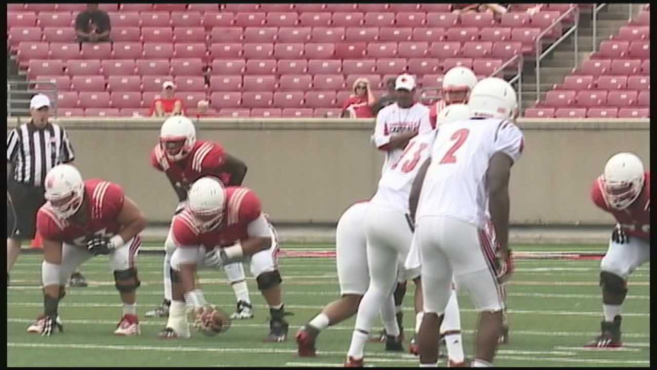 The University of Louisville football is ready for Monday's season opener against Miami.