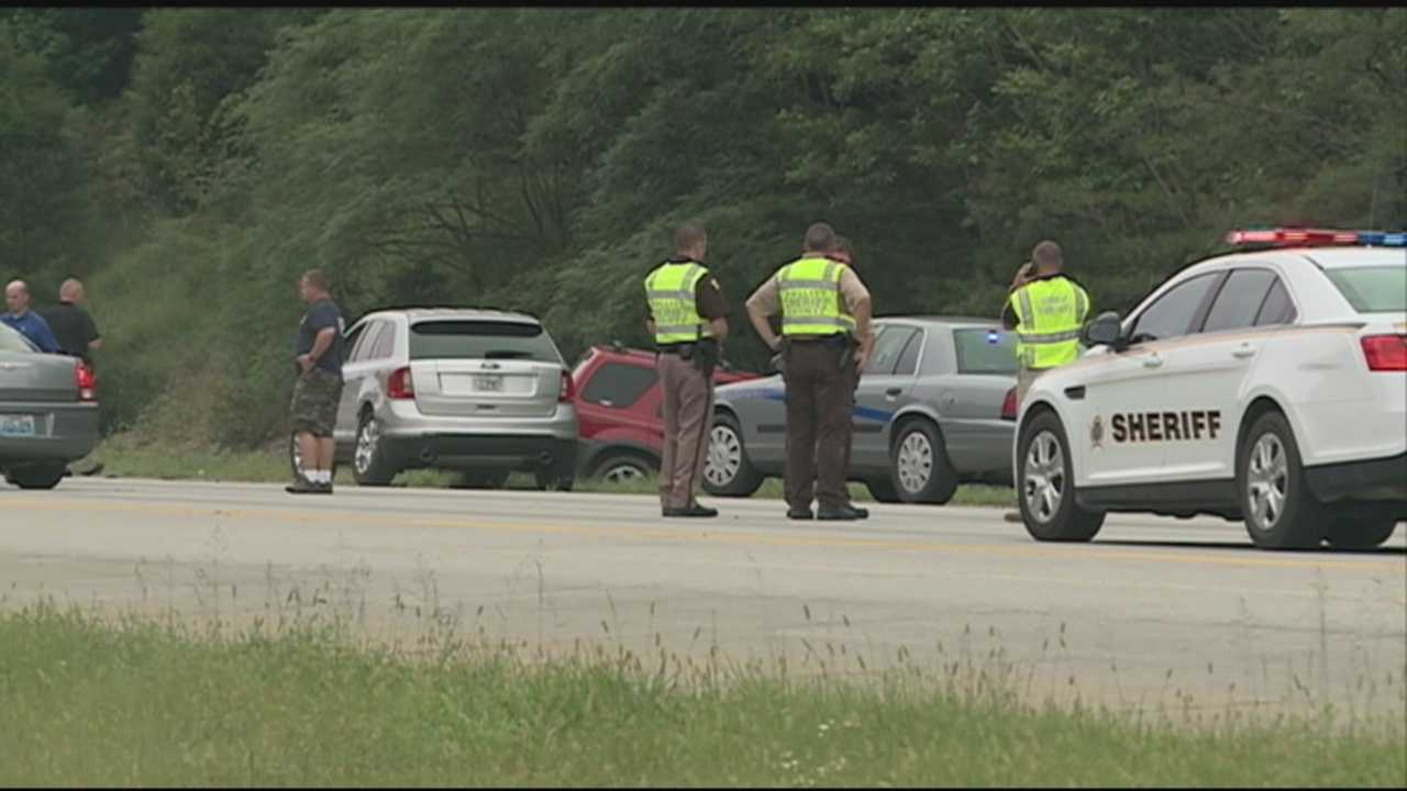 A Kentucky State Police trooper is recovering after being hit by a car Saturday afternoon.