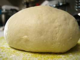 Bread dough can cause intestinal obstruction, bloating and vomiting and should not be given to pets.