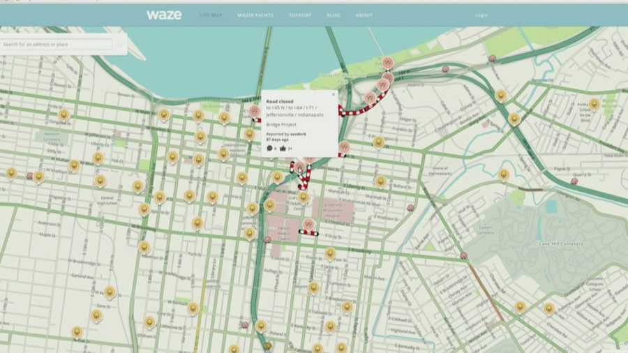 metro louisville teams up with waze app to help drivers. Black Bedroom Furniture Sets. Home Design Ideas