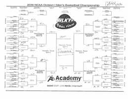Colin Mayfield. See a bigger version of Colin's bracket.