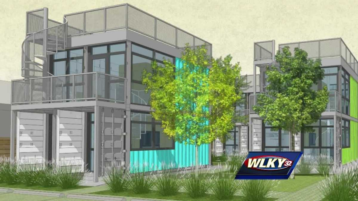 Louisville 39 s first shipping container homes planned for for Where to buy shipping containers for homes