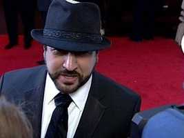 Joey Fatone, singer dancer and actor,best known as a member of the boyband 'N Sync